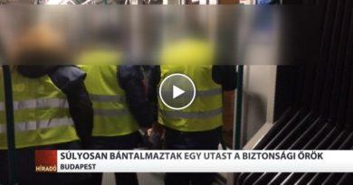 Súlyosan bántalmaztak egy utast a BKK biztonsági őrei